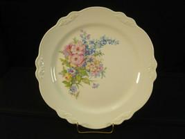 """Homer Laughlin Virginia Rose F40N8 10 1/8"""" Dinner Plate Cabinet Platter - $9.47"""