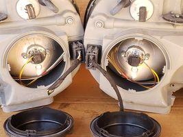 00-02 Mercedes W210 E320 E430 E55 AMG Halogen Headlight Set L&R - MINT image 8