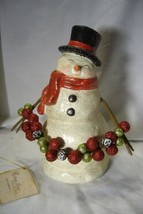 Bethany Lowe Traditional Smiley Snowman image 1