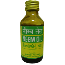 2 Pack Ashwin 100ml Neem Oil 100% Pure Oil Dandruff Itchy Scalp - $8.00
