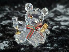 Swarovski New Year's Eve Celebration Bear Figurine  - $49.45