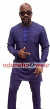 Odeneho Wear Men's  Polished Cotton Top And Bottom. African Clothing. - $118.80+