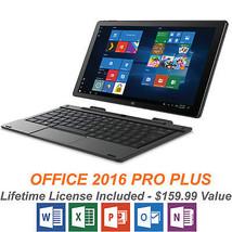 """Windows 10 Tablet Laptop 10.1"""" 2in1 w/ Keyboard 32Gb Office PRO Plus New... - $143.44"""