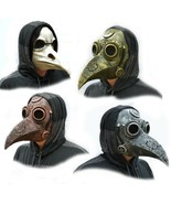 Plague Doctor Halloween Mask Steampunk Dr. Crow Bird Bronze Copper White... - $19.99