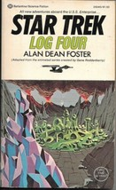 Star Trek Log Four Paperback Book Alan Dean Foster 1975 Ballantine FINE - $3.25