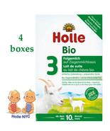 Holle Goat Stage 3 Organic Milk Formula 400g FREE SHIPPING 4 Boxes 05/2020 - $101.95