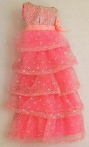 Vintage Barbie Romantic Ruffles #1871 Dress  243-30 - $35.00