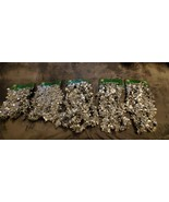 VINTAGE CHRISTMAS SILVER GARLAND - LOT OF 5 AT 9 FOOT EACH - $25.00