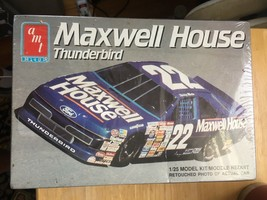 AMT ERTL 1:25 SCALE STERLING MARLIN #22 MAXWELL HOUSE THUNDERBIRD 6457 M... - $11.69