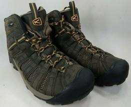 Keen Voyageur Mid Top Size 13 M (D) EU 47 Men's Trail Hiking Boots Raven... - $84.61 CAD
