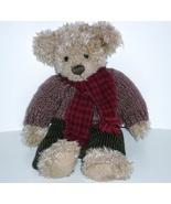Russ Berrie Collection Teddy Bear Allister, 2000 long chenille bear - $10.00