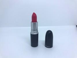 "MAC Satin LIPSTICK Shade "" Relentlessly Red "" .12oz/3.6g Full Size - $16.03"