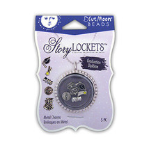 Blue Moon Beads - Story Locket Collection - Metal Charms - Graduation  - $7.89