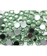 5mm SS21 Green Peridot .PD Acrylic Rhinestones - 100 PCS - $4.15