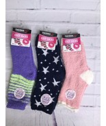 ThermaXXX Super Soft Ultra Comfy Cozy Socks 3 Pack Assorted Womens Size ... - $16.82