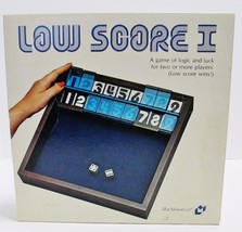 Low Score I - Vintage 1979 Dice Board Game A Game of Logic & Luck - Made... - $25.98