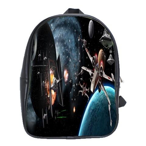 Scbag2084 backpack school bag star wars death star american gala