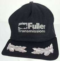 Vintage New Era USA Fuller Transmissions Automotive Silver Leaf Black Me... - $20.00