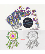 XUES® 24Pages/Lot Mandalas Flower DIY Coloring Book For Children Adult R... - $1.17