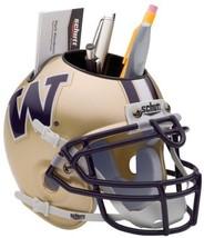 Washington Huskies NCAA Football Schutt Mini Helmet Desk Caddy - $21.95