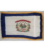 Valley Forge West Virginia Flag Pole Hem Fringe Three By Five Feet - $24.99