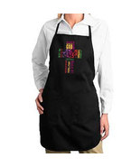Names Of Jesus Cross New Apron, Cook, Gifts, Events, Church, Faith - $19.99
