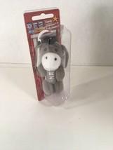 2004 Pez Dispenser Barnyard Babies Keychain Plush Donkey NIP - $5.00