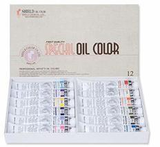 Shield Colors Special Oil Color 50ml 12 Colors (Set B)