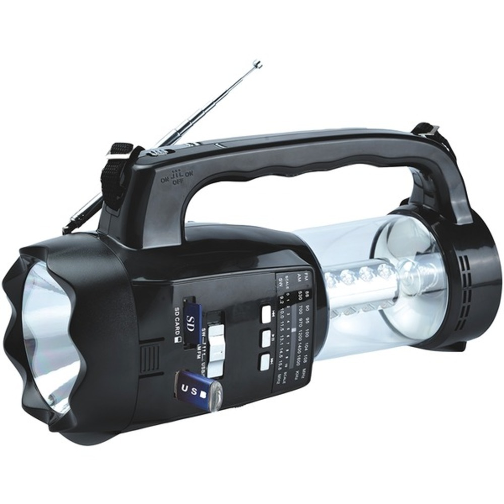Supersonic SC-1093 20-LED 3-Way Emergency Radio, Flashlight, and Lantern