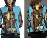 Amazon of chui himaya hoodie zipper fullprint women thumb155 crop