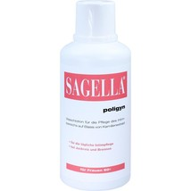 Sagella poligyn Intimate wash lotion for women 50 plus 500 ml Pack of 2 - $95.00