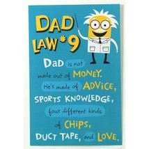 American Greetings Dad Law #9 Father's Day Card With Envelope - $3.99