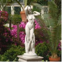 "Contemporary VENUS STATUE 31"" Nude Goddess of Love Renaissance Garden Sc... - $219.95"