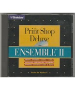 The Print Shop Deluxe Ensemble II by Broderbund for Windows - $18.02