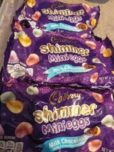 Lot of 3 - 9oz Bags Cadbury Easter Milk Chocolate Shimmer Mini Eggs  - $11.87