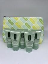 Lot of 5 Clinique Foaming Facial Soap Very Dry to Comb Oily, 1oz/30ml NE... - $19.79