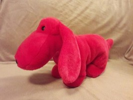 "TY BEANIE BUDDIES red ROVER WIENER DOG Plush stuffed animal Toy 13"" 1998 - $7.69"