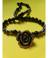 Flower bead necklace - $33.15