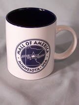 "Mall Of America Minnesota USA souvenir coffee cup approx 3.75"" tall - $5.10"