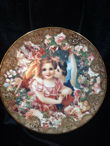 "Romantic Victorian Keepsakes Plate ""Dearest Kiss"" From The Hamilton Collection  - $8.00"