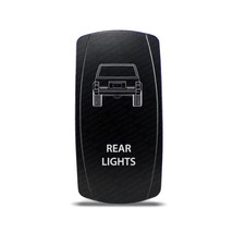 CH4X4 Rocker Switch Jeep Cherokee XJ Rear Lights Symbol - White LED - $16.44