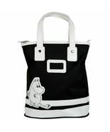Moomin Black Canvas Bag mit Reißverschluss 22 x 34 x 11 cm Martinex… - $24.73