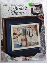 A Bride's Prayer, cross stitch, book #69 (Leisure Arts leaflet) Vaughan,... - $17.81