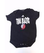 K4719 Boys Girls ADIDAS Baby PORTLAND TRAIL BLAZERS Aldridge Bodysuit 6-12 - $21.24
