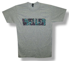 Paul Weller-(The Jam)-Paisley Logo-Heather Gray T-shirt - $19.99