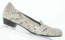 Clarks Artisan Timeless leather snake print casual slip on loafer flats ... - $33.30