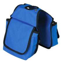 "7.5'X7.5"" Hilason Western Tack Horse Horn Bag Royal Blue Pockets U-41BL - $21.58"