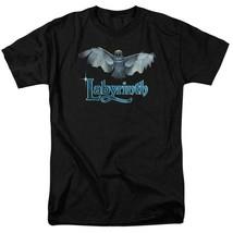 Labyrinth David Bowie Fantasy film Retro 80's adult graphic t-shirt LAB119 image 1
