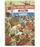 1964 NATIONAL CONVENTION AND ELECTION HANDBOOK (United Press) - Good Con... - $4.50