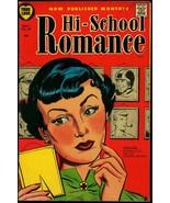 Hi-School Romance #39 1955- Harvey Comics- Cover Girl VG+ - $59.60